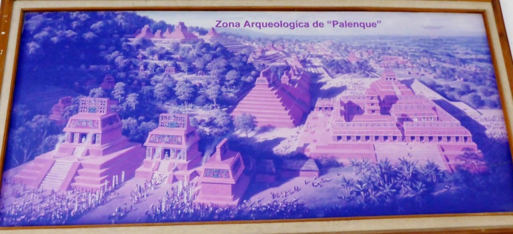 Palenque was a Mayan city state in southern Mexico that flourished in the 7th century. The Palenque ruins date from ca. 226 BC to ca. AD 799.