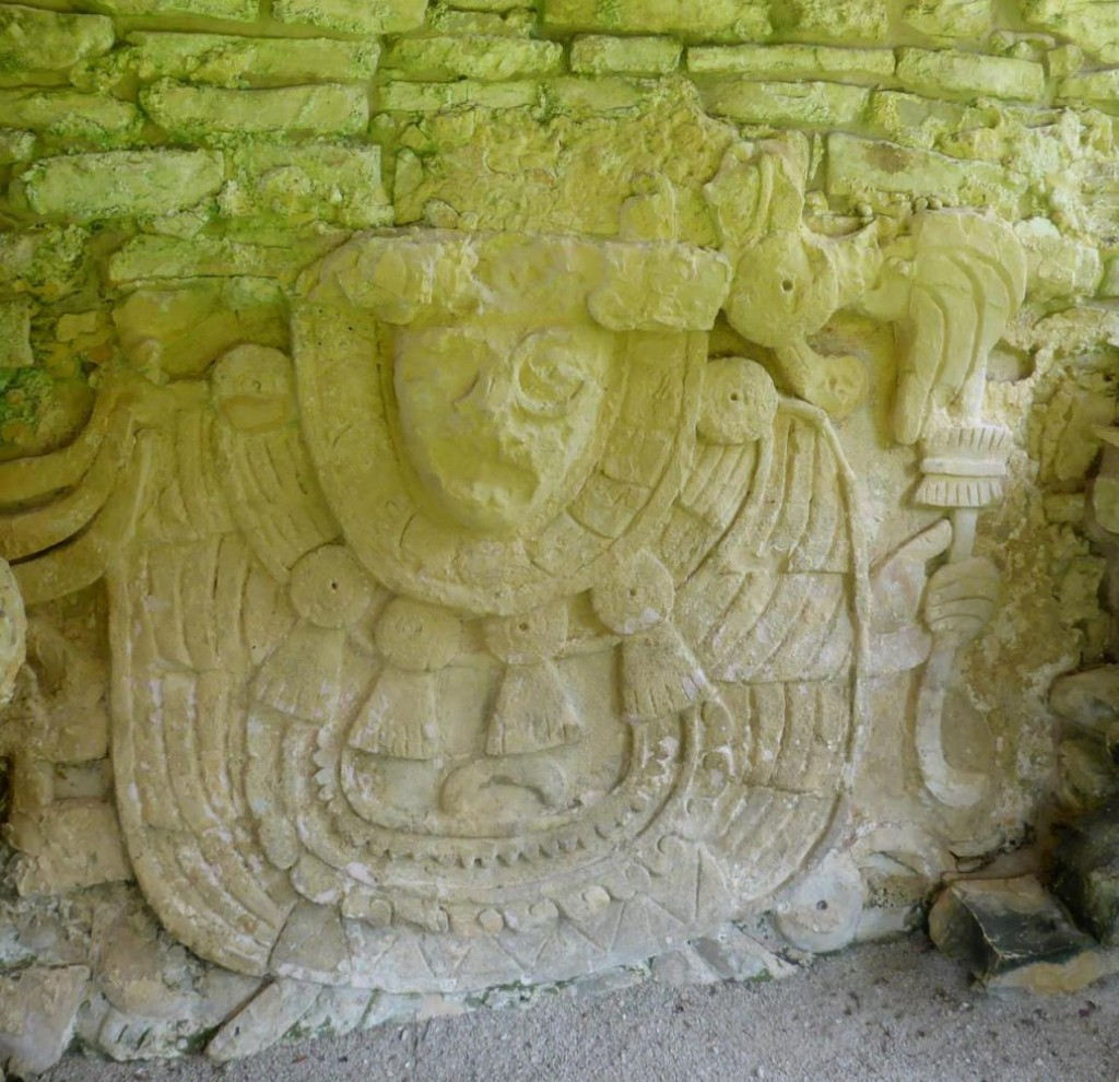 Only few carvings remain intact on the ruins. Several have been removed and placed in a museum that we also toured.