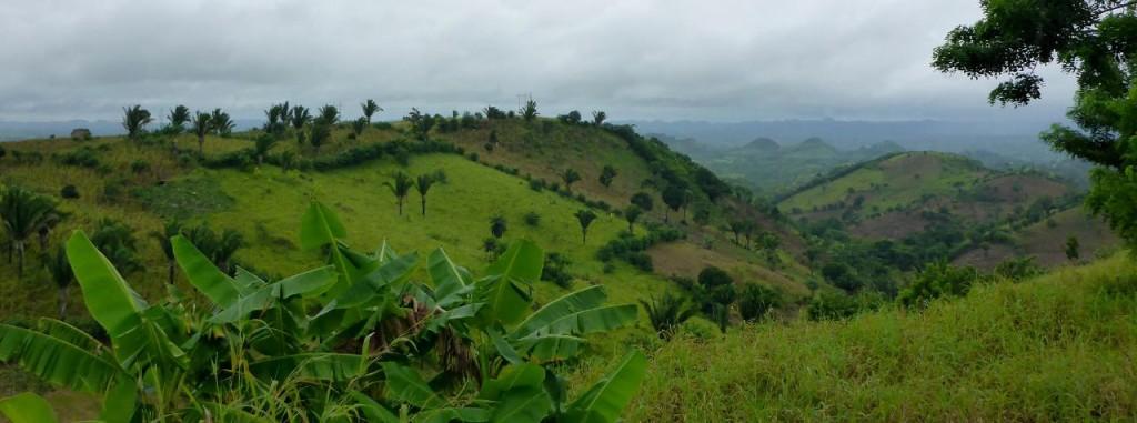 The beautiful Guatemalan mountains.