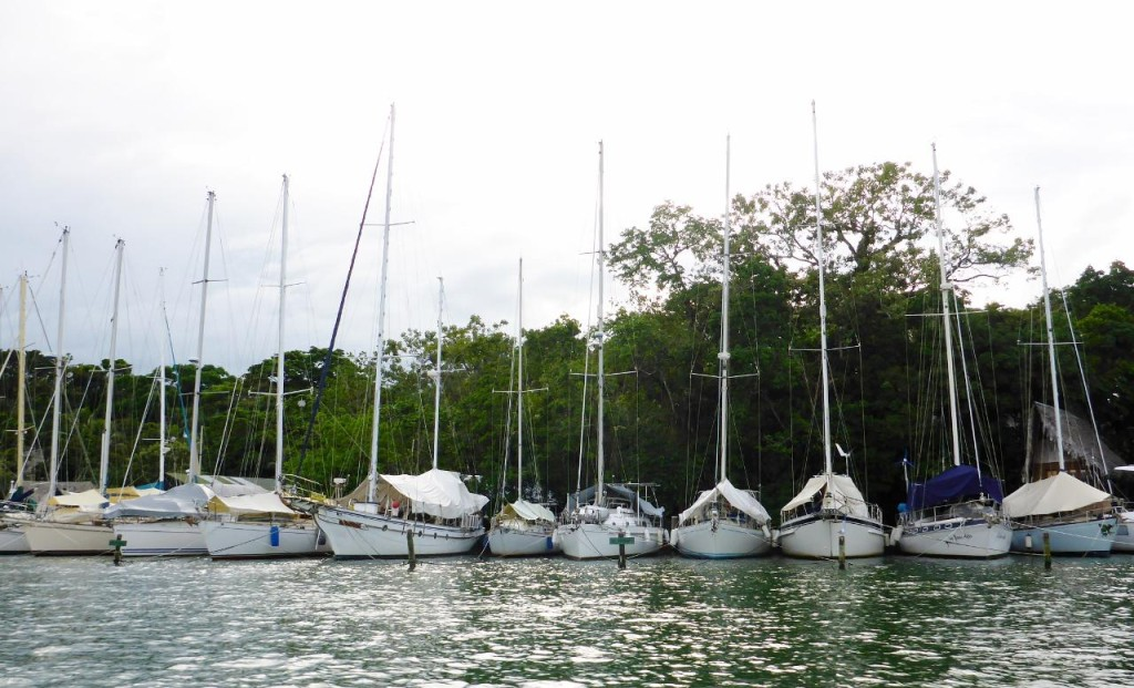 A popular cruising destination during hurricane season.