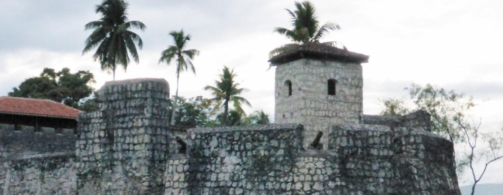 A nearby fort.