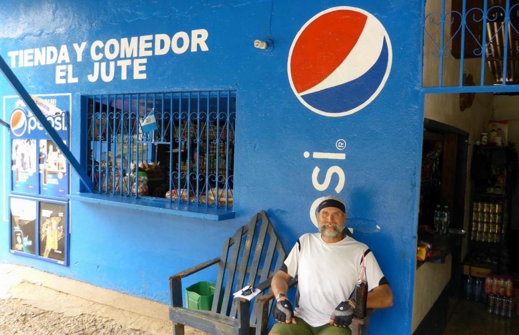 A Pepsi break.