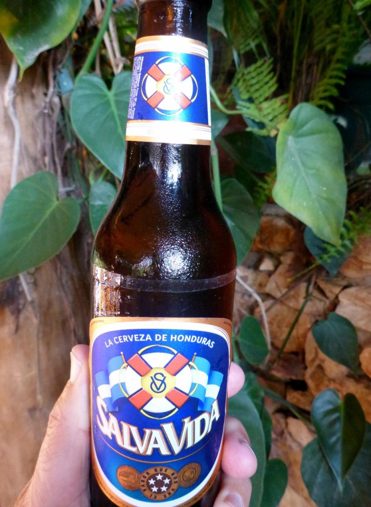 A very fine Honduran beer...