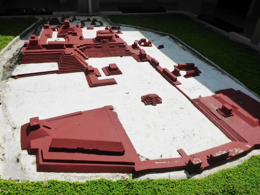 The ancient Mayan city of Copan.