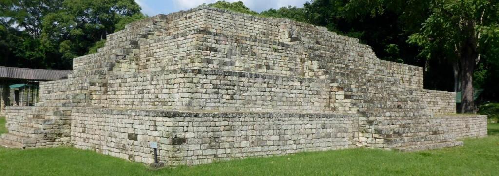 A small pyramid.