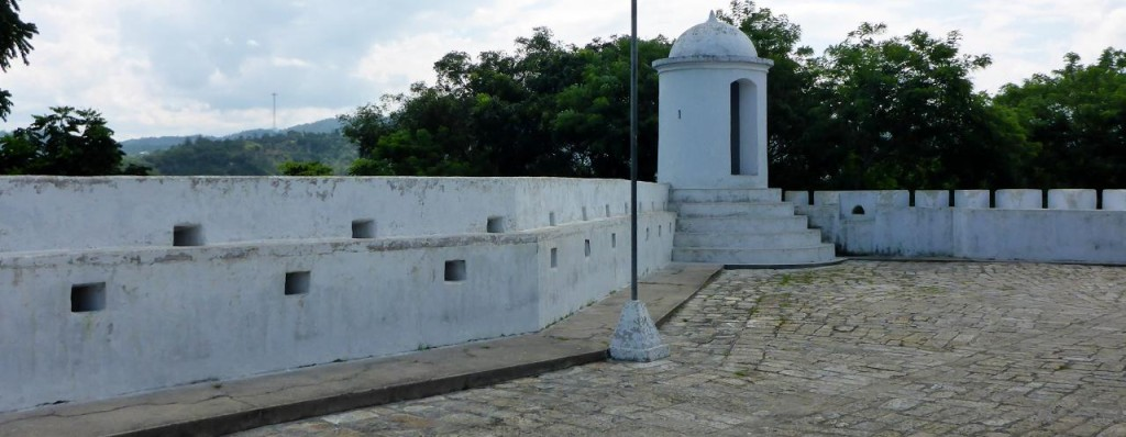 Fortaleza San Cristobal. Small but interesting architecture.