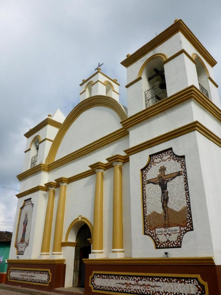 The church in Colomoncagua.