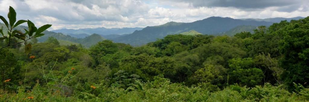 Honduras - a country of mountains.