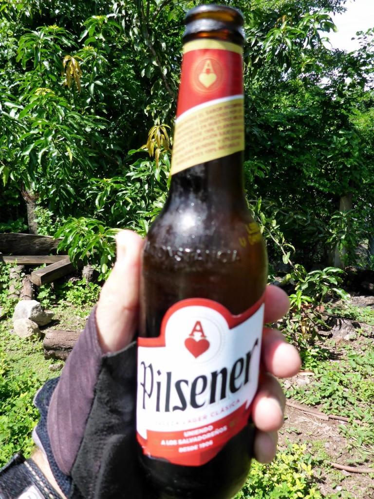 A fine El Salvador beer.