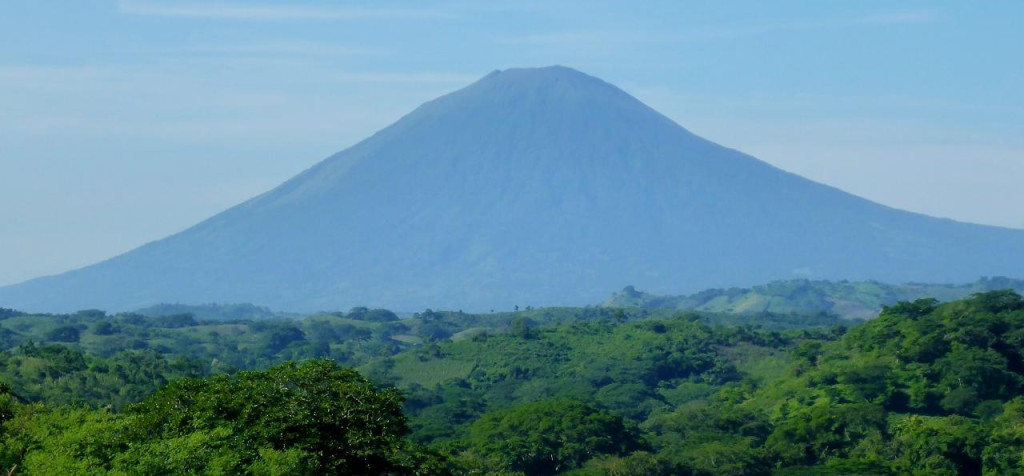 This volcano is 7,000 feet and erupted less than two years ago December 29, 2013.