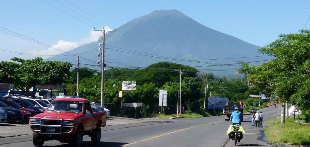 Entering San Miguel.
