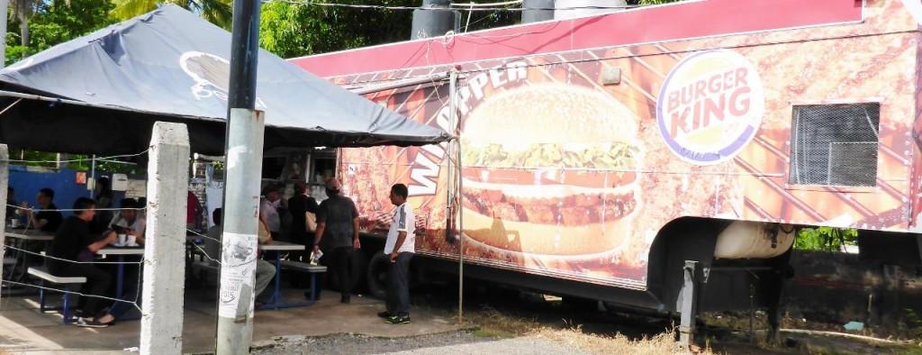 A Burger King truck???