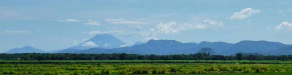 Nicaragua is the land of volcanoes.