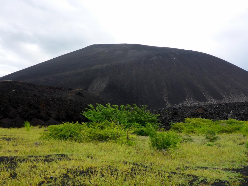 Volcano Cerra Negro. At 728 meters it is very young and small. Last eruption was in 1999.