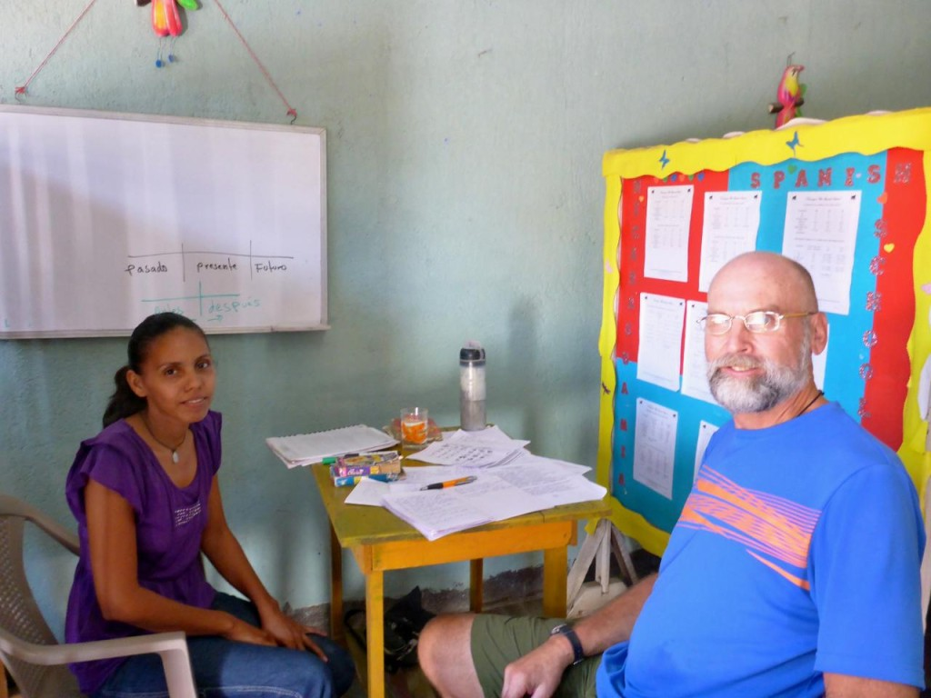 My Spanish teacher Irma.
