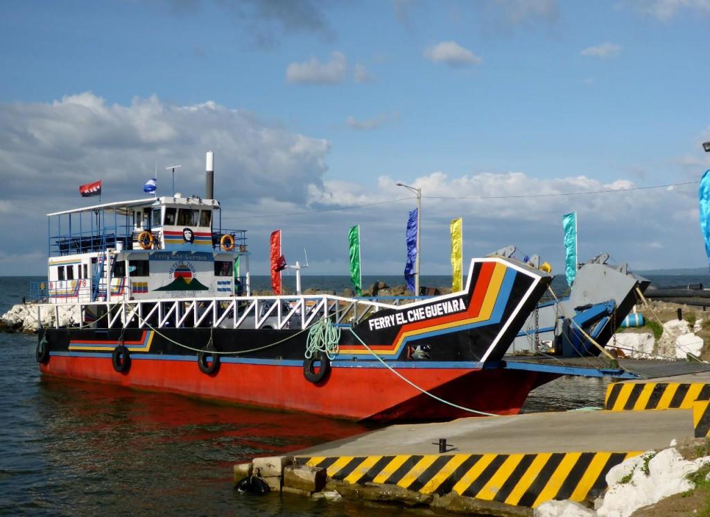 The Ometepe Island Ferry.