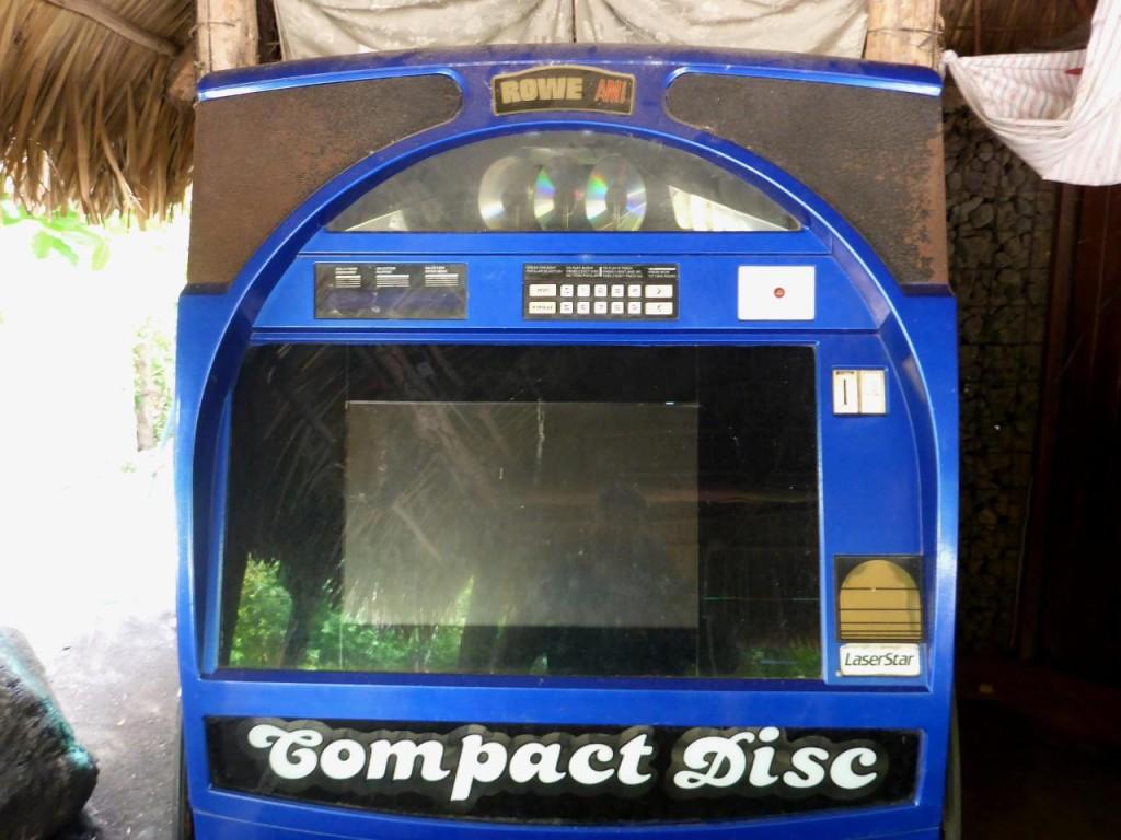 A CD jukebox.