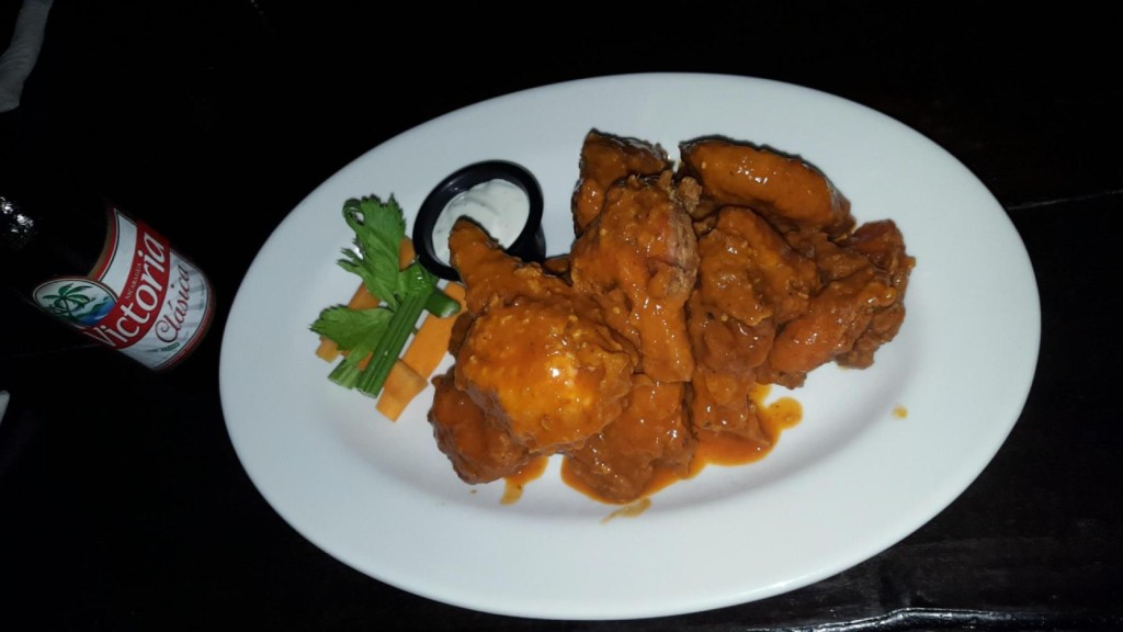 Chicken wings from Reilly's Irish Tavern in Granada, Nicaragua are some of the best in the world!