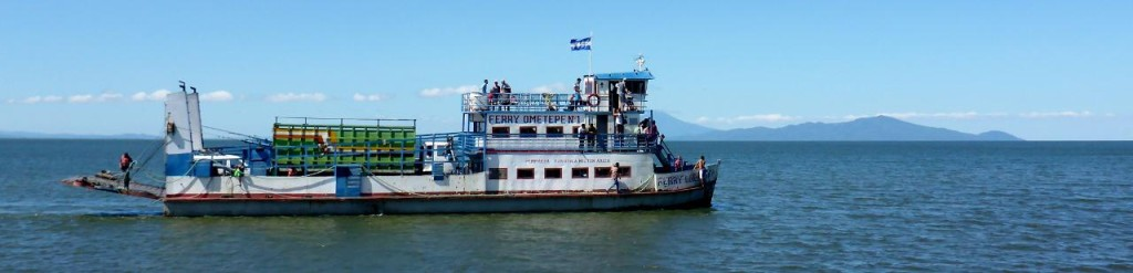 Our ferry back to San Jorge.