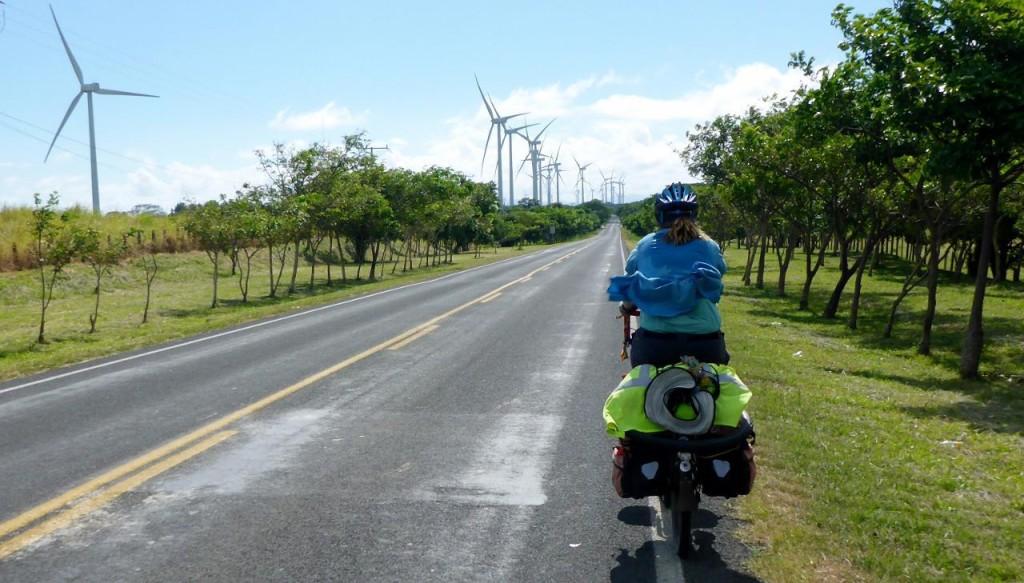 A wind turbine project in Nicaragua.