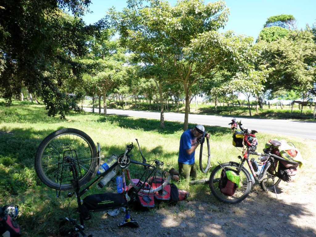 A second puncture in Nicaragua! There must be a disturbance in the force.