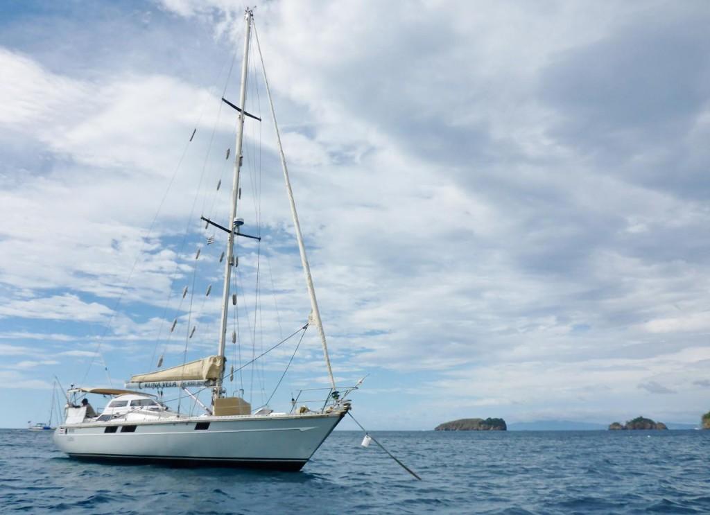 A fine sailboat.