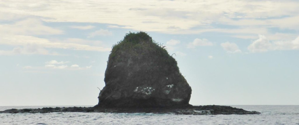Monkey Head Island. The face is pointed to the right.