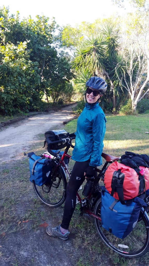 A few days before we left we hosted Enis from Belgium. She is enjoying her cycle tour of the U.S. and beyond. http://www.thetomorrowtales.com