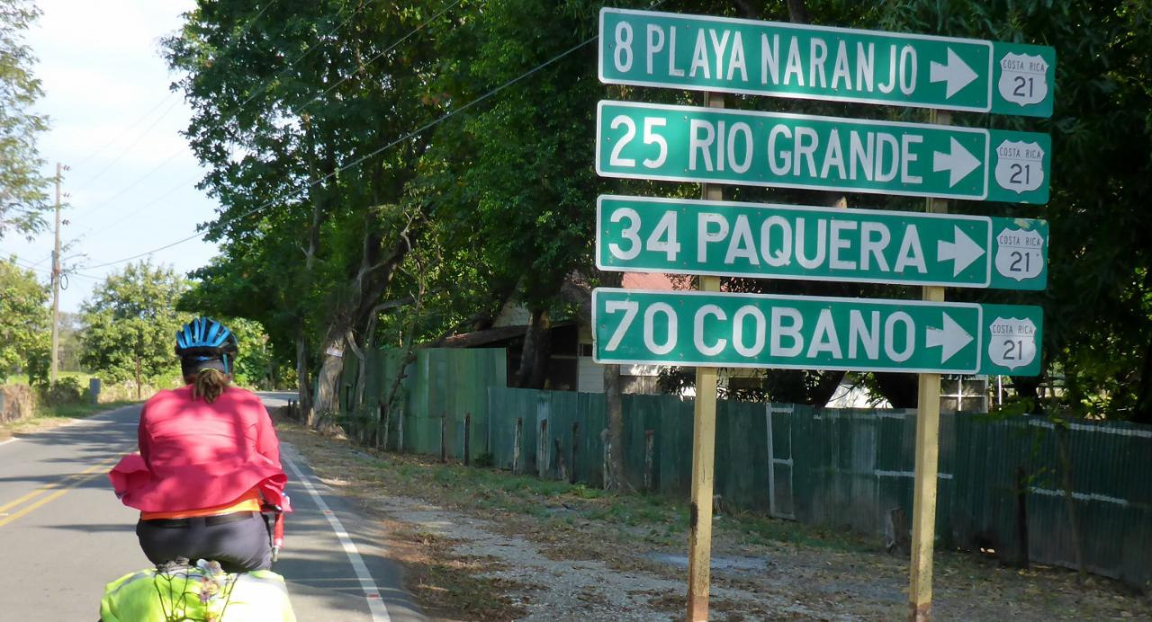 Headed to Playa Naranjo on a quiet Sunday afternoon.