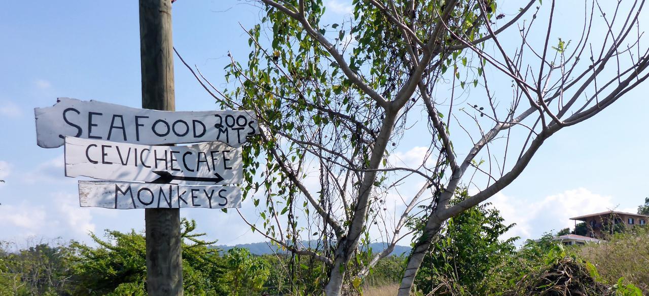 I wonder if they serve monkeys here.