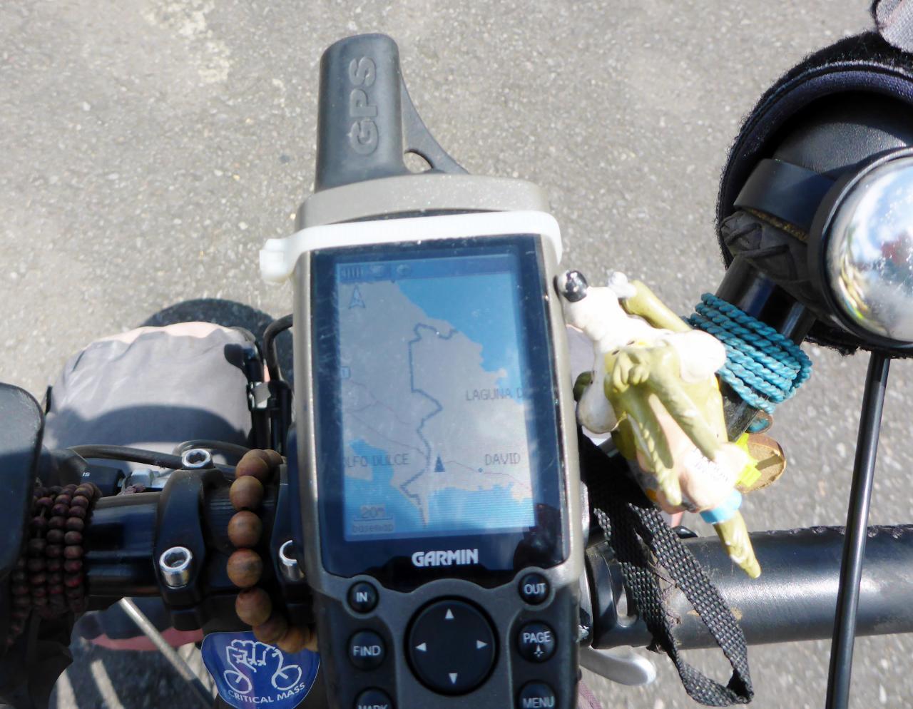 Cycled across the border and headed to David, Panama.
