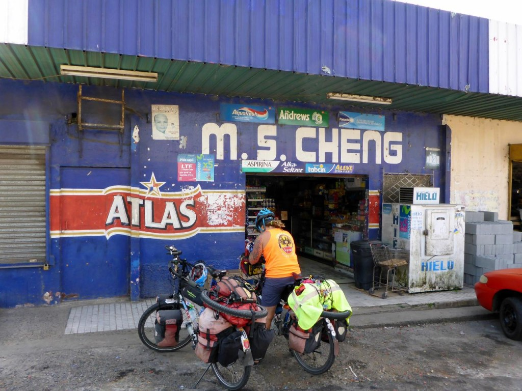 "All the markets that we have stopped at in Panama are owned by Asians. They have ""schooled"" me on how to give exact change as they don't like giving change."