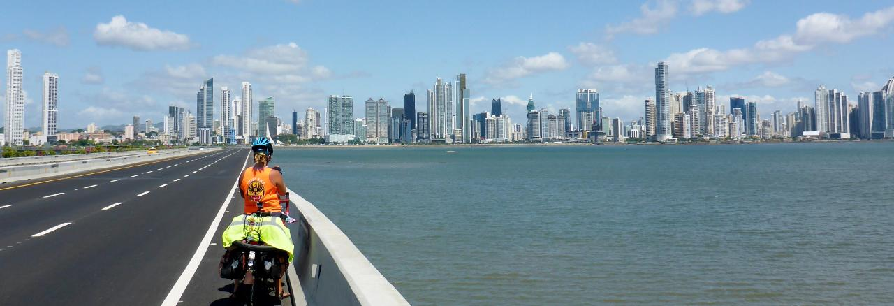 ...and city skyline.