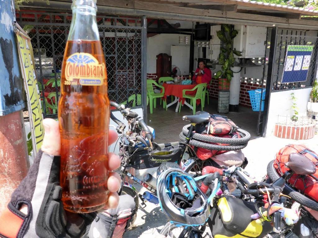 A fine Colombian soda.