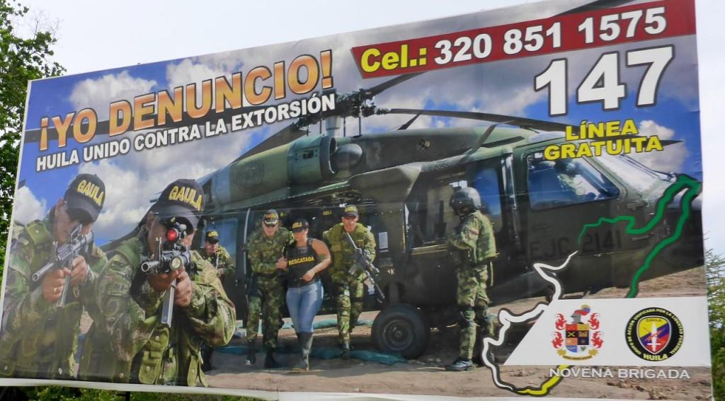 A random Colombian billboard.
