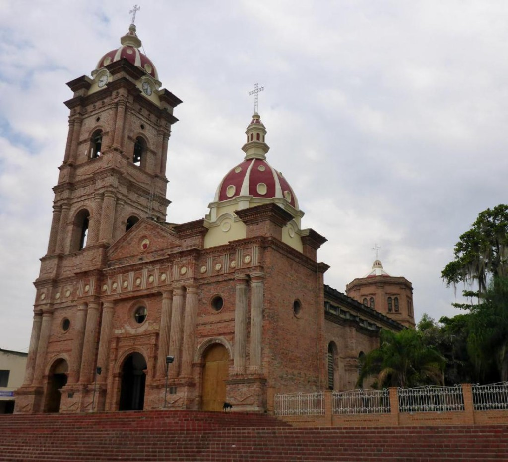 The cathedral in Pitalito.