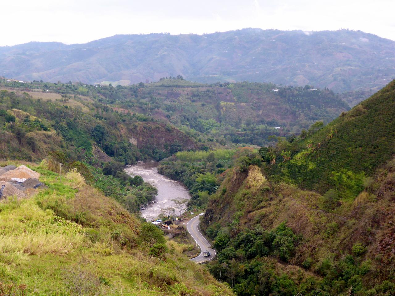 A fast descent from San Agustin.
