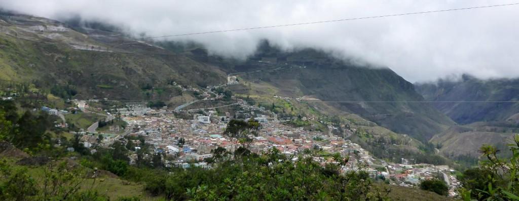 Alausi, Ecuador.