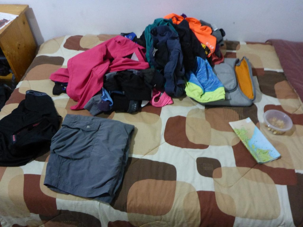 We used a washer and dryer! This is the first time to have our clothes laundered since Costa Rica.