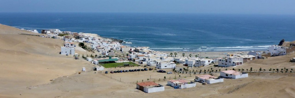 Typical Peru beach resort.