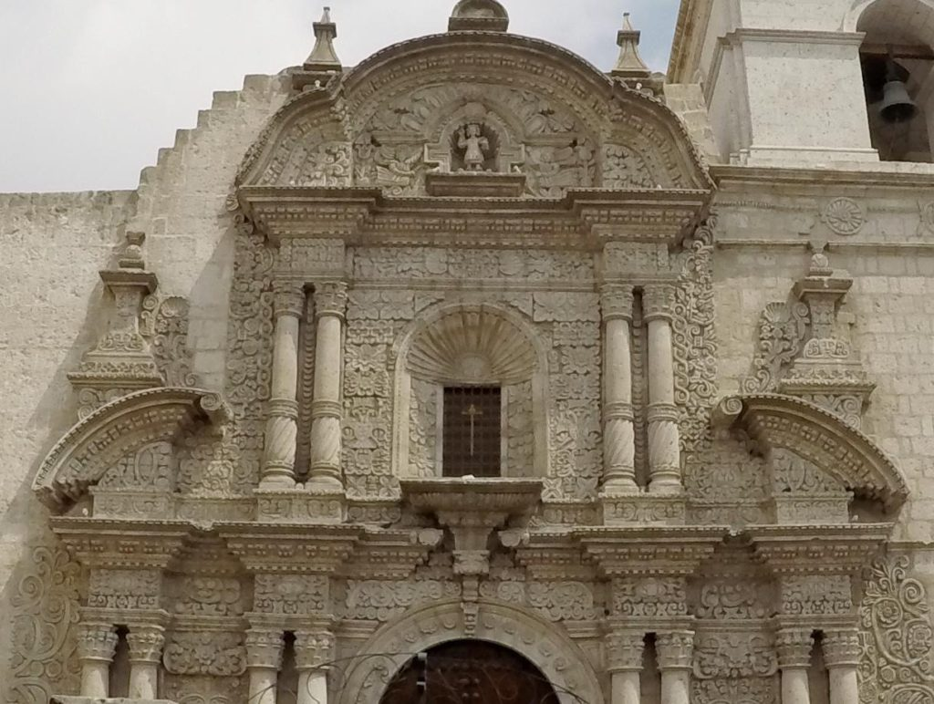 Cusco is full of beautiful churches.