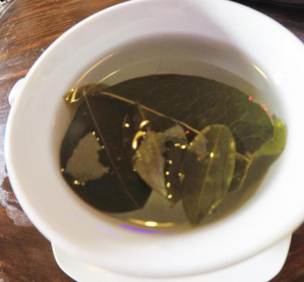 We drink a lot of Coca tea derived from coca leaves.