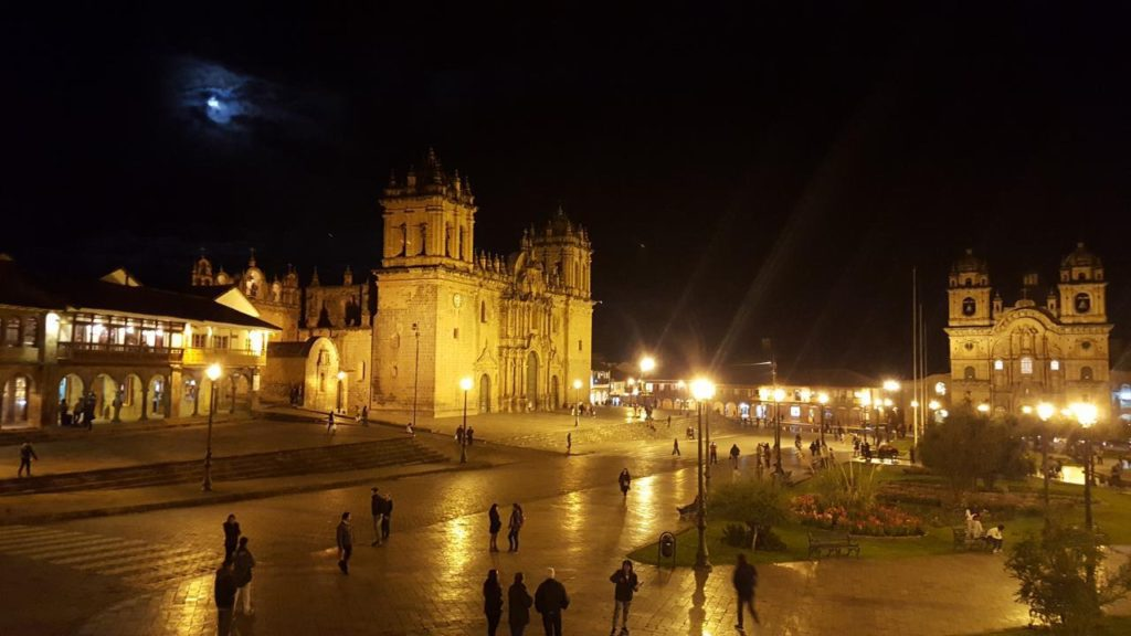 The cathedral at Cusco.