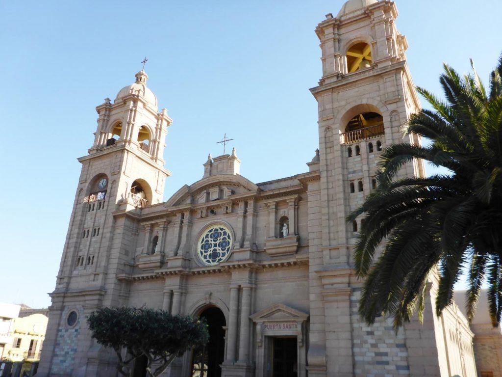A church in Tacna, Peru.