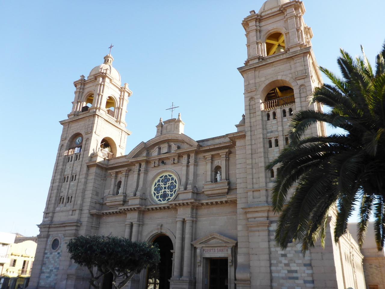 A church in Tacna, Peru.