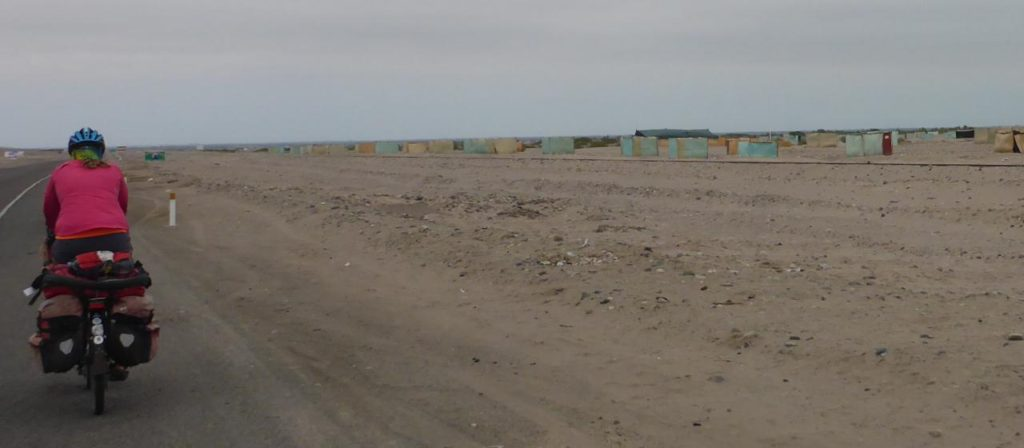 We haven't yet figured out what all these shacks are for in the Peruvian deserts.