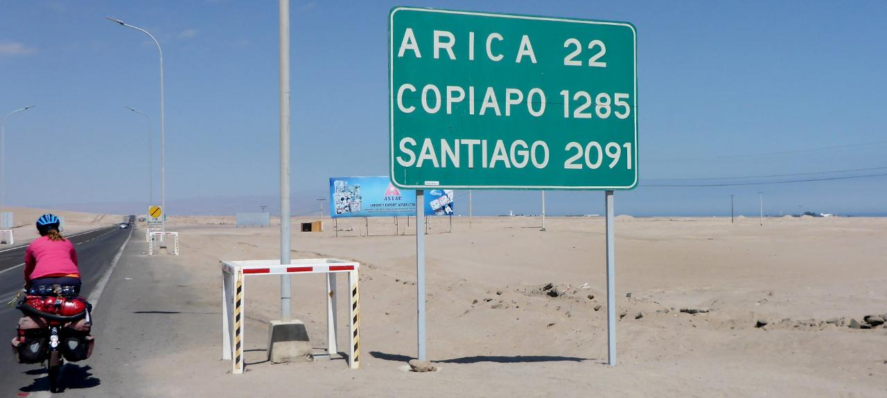 Heading to Arica for the day.