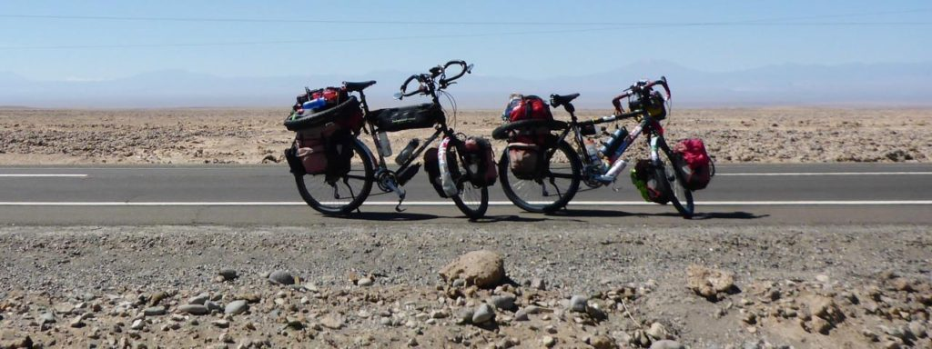 Random desert bicycles.
