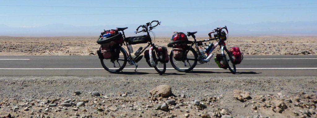 Random desert bicycles.