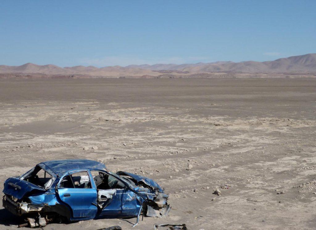 A random desert car.
